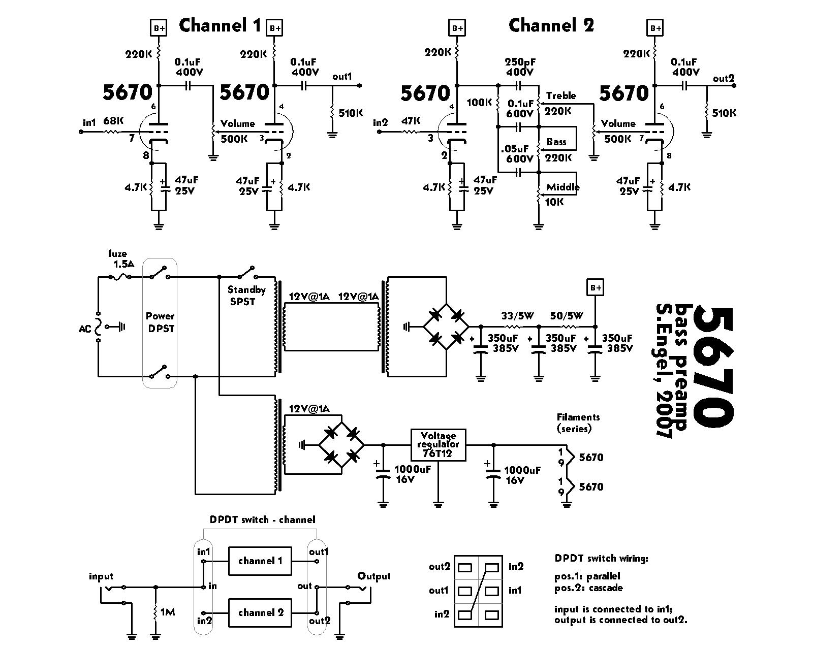 5670 tube preamp schematic auto electrical wiring diagram \u2022 diy tube guitar amp schematics engel sound experiment tube bass preamplifier rh meatexz com diy tube amp schematics tube amp schematics